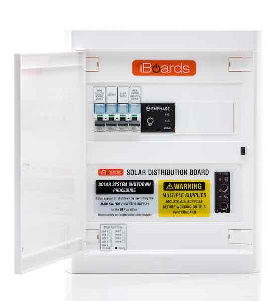 Single phase IQ Series indoor door open 600x530