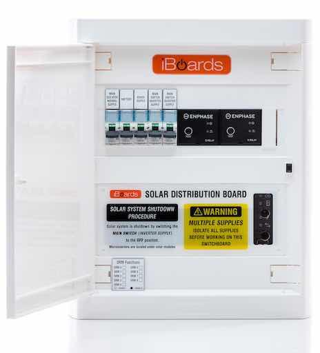 Single phase indoor dual IQ relay board door open copy