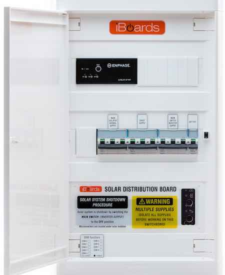 Soalr distribution board