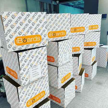 iBoard's Order Ready For Shipment
